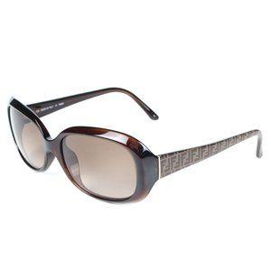 Fendi Brown Monogram Sunglasses